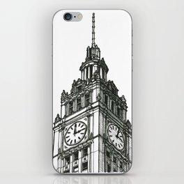 Triptych 1 - Wrigley Building - Original Drawing iPhone Skin