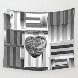 Jasper Heart in Vacancy Wall Tapestry