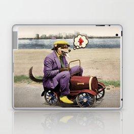 Barkin' Down the Highway! Laptop & iPad Skin