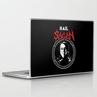 carl sagan Laptop & iPad Skins featuring HAIL SAGAN by Normal-Sized Deet