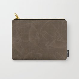 Quincy Tobacco Brown Carry-All Pouch