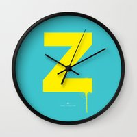 dragonball z Wall Clocks featuring Z. by Puldefranck