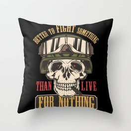 17 Warriors_13 Throw Pillow