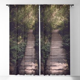 Pacific Northwest Forest Trail Blackout Curtain