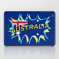 australia iPad Cases featuring Australia by mailboxdisco