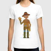 oz T-shirts featuring OZ - Scarecrow by Drybom