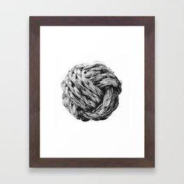 Monkey Fist Framed Art Print