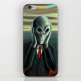 Silent Scream - The Silence iPhone Skin
