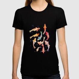 Watercolored Koi Pond T-shirt