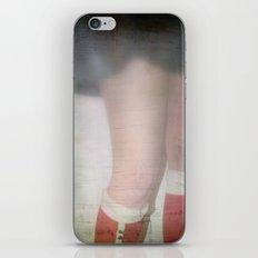 Ladies In Gingham Still Blush iPhone & iPod Skin
