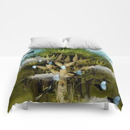 """""""The Bosch Spring"""" Comforters"""