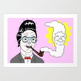 Quiff Art Print