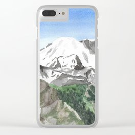 The Heart of Washington Clear iPhone Case