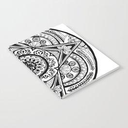 New Year Mandala Notebook