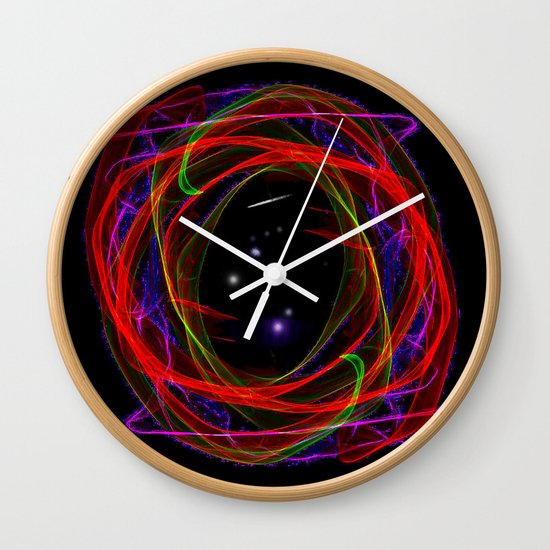 Vacancy / Portal Wall Clock