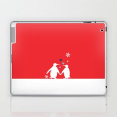 Penguin Couple Laptop & iPad Skin