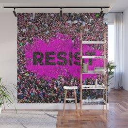 Resist Wall Mural