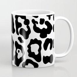 Panther Faux Fur Black & White Coffee Mug