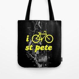 I Bike St. Pete Tote Bag