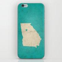 atlanta iPhone & iPod Skins featuring Atlanta, Georgia by Fercute