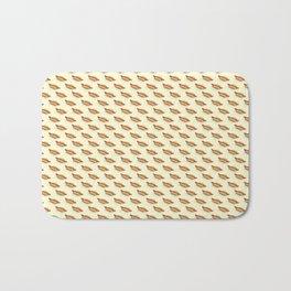 Hot-Dog Pattern Bath Mat