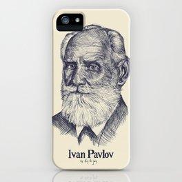The Biologist, Ivan Pavlov iPhone Case