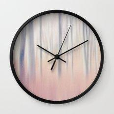 Pastel Woods Wall Clock