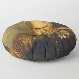 Clint Eastwood - replaceface Floor Pillow