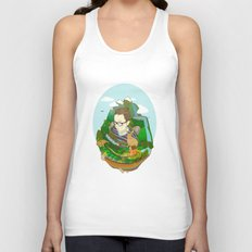 Honey, you mean the world to me. Unisex Tank Top