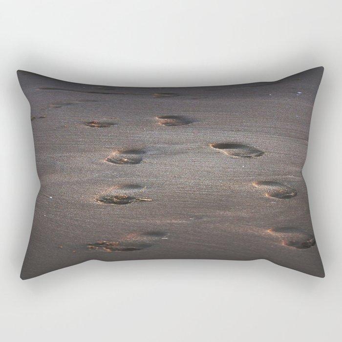 Burn In the Sand Rectangular Pillow