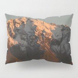 Moon Over Pioneer Peak Pillow Sham