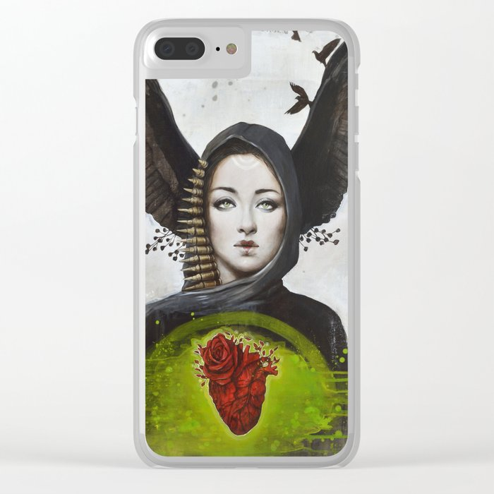 Morgane Clear iPhone Case