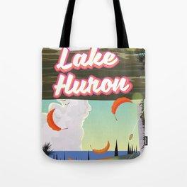Lake Huron Tote Bag