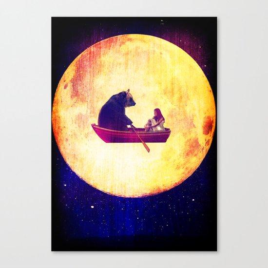 Moon Flight Canvas Print