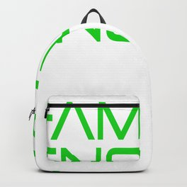 Have You Had Enough? Let's Reflect on A Shirt Saying Famous Enough T-shir Design Fame Known Unique Backpack
