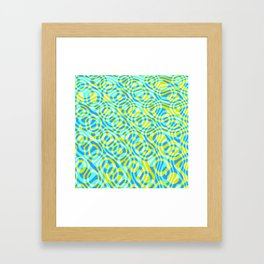 Mixed Polyps Yellow - Coral Reef Series 039 Framed Art Print