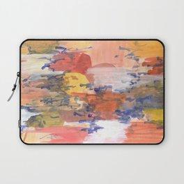 paisaje abstracto Laptop Sleeve