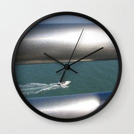 Through The Silver Rails Wall Clock
