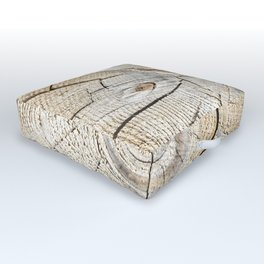 Wood Cut Outdoor Floor Cushion