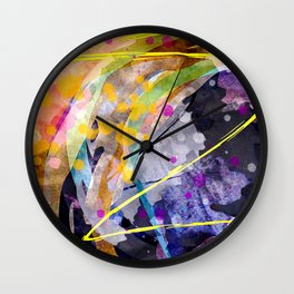 entwined paths Wall Clock