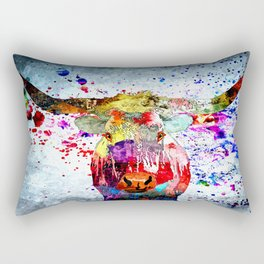 Texas Longhorn Rectangular Pillow