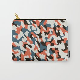 U-Bahn blobs abstract pattern Carry-All Pouch