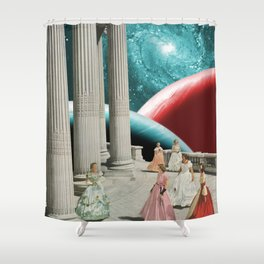 Cosmic Cotillion Shower Curtain