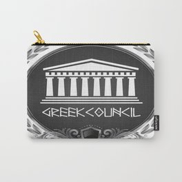 GREEK LUXORY COUNCIL Carry-All Pouch