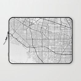 Minimal City Maps - Map Of Sunnyvale, California, United States Laptop Sleeve