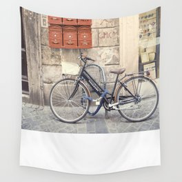 bike love::rome, italy Wall Tapestry