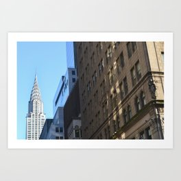 Chrysler Building, New York City. Art Print