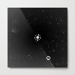 System Solar Metal Print