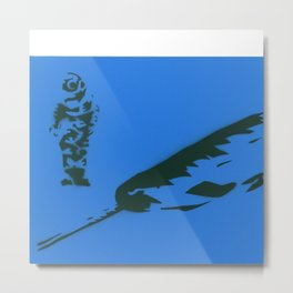 nothing to doubt (narwhal) Metal Print