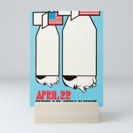 Nixon Bombs Mini Art Print